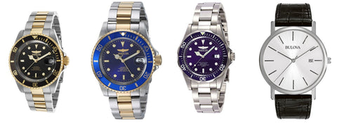 Save big on men's watches