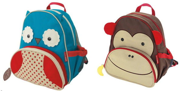 Skip Hop Zoo insulated backpacks