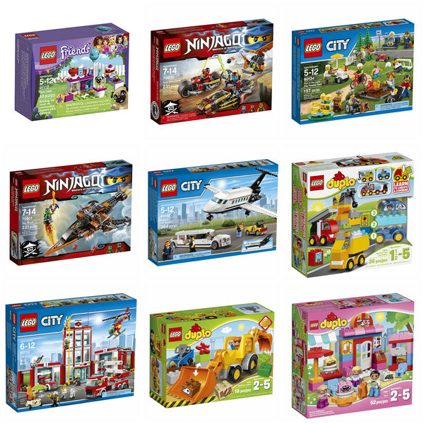 Buy one LEGO set and get the second 40% OFF!