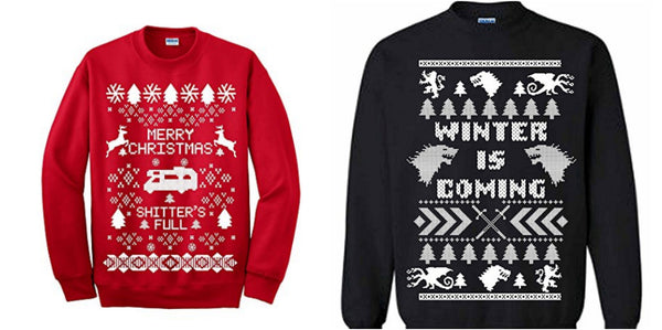 Unisex ugly sweaters