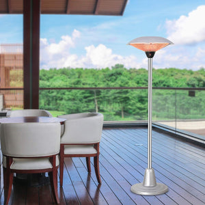Outdoor 3 Level Height Adjustable Patio Heater