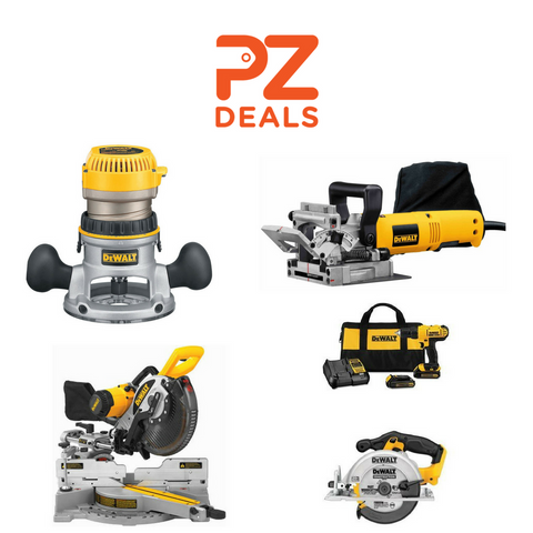 Up to 42% off Dewalt tools