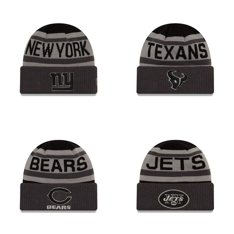 NFL Black & Gray Beanies