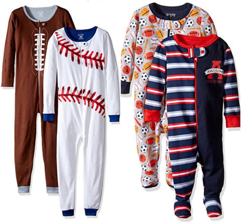 2 sets of The Children's Place boys or girls stretchie pajamas