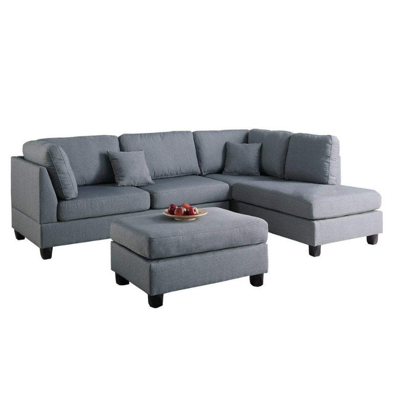 Prime Left Or Right Hand Chaise Sectional Sofa Set With Ottoman Short Links Chair Design For Home Short Linksinfo