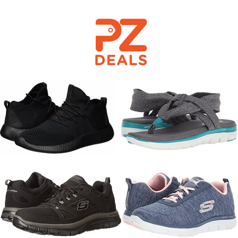 Men's and women's Skechers sneakers