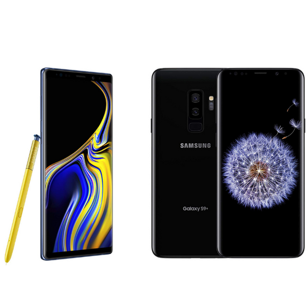 Huge sale on brand new unlocked Samsung Galaxy S8, S9, S9+ and Note 9 Smartphones