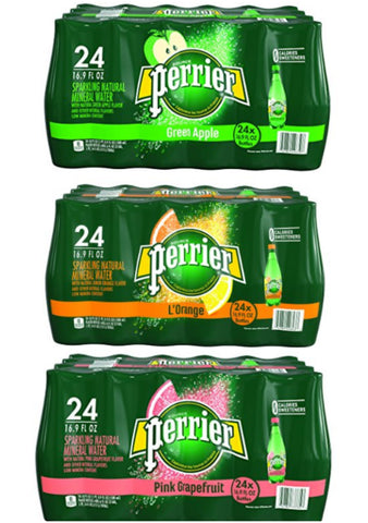 Pack of 24 Perrier Sparkling water