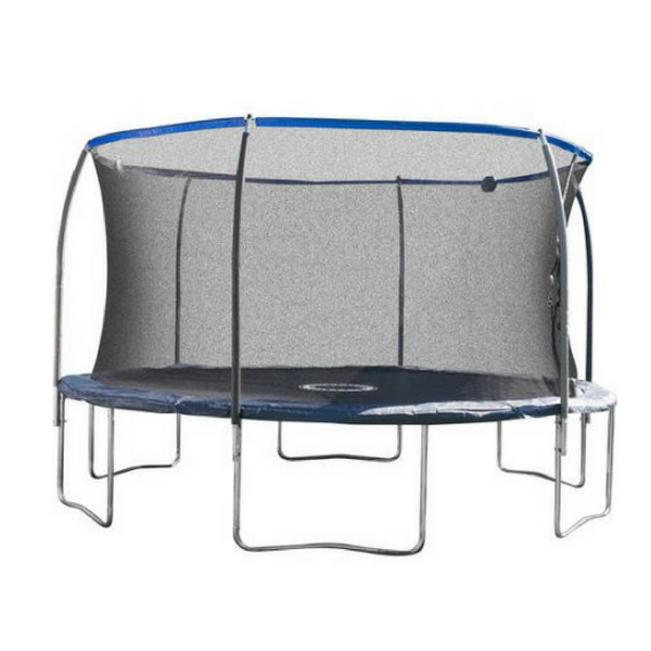 14-Foot Trampoline, with Proflex Safety Enclosure and Electron Shooter Game,