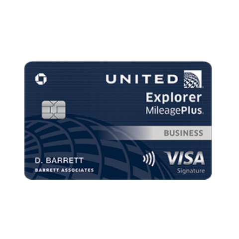 LIMITED TIME! Earn a massive 75,000 bonus points with this Chase United Explorer Business Card