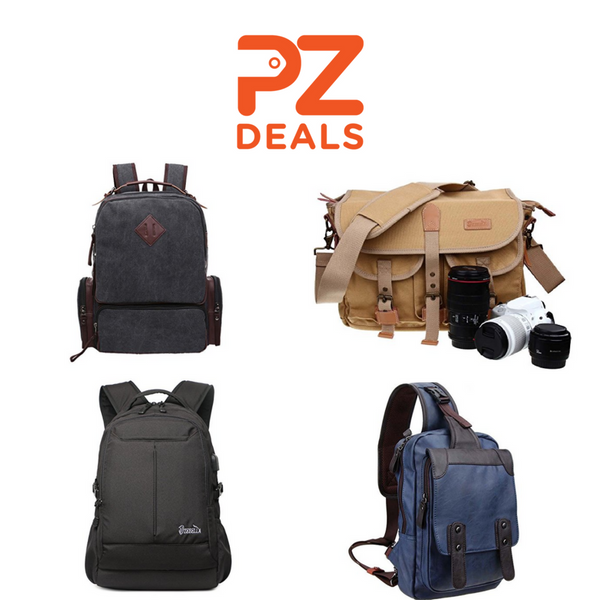 Leather backpacks & messenger bags