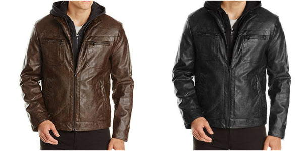 Kenneth Cole Men's Leather Jackets