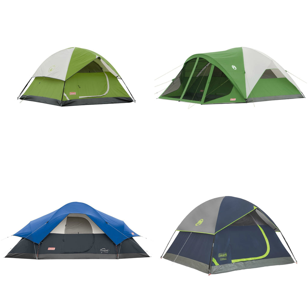 Save BIG on Coleman tents