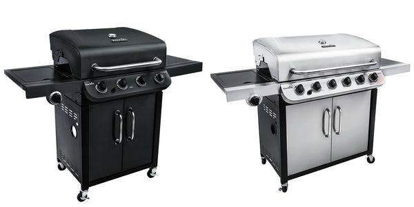 Save up to 45% off on Char Broil 4 or 6 burner grills