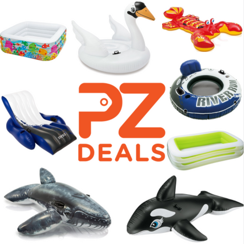 Up to 50% off pool floats