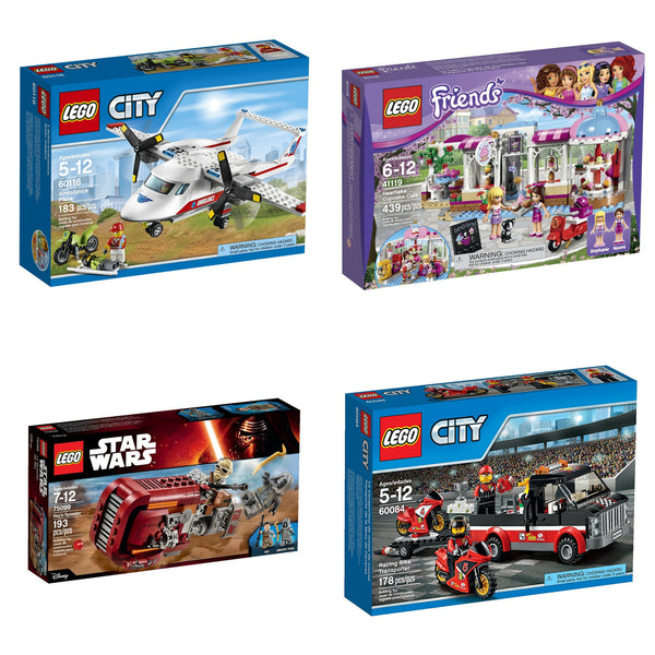 Buy one LEGO set and get one 40% OFF