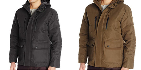 London Fog hooded jackets