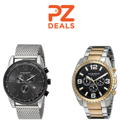 2 Days Only: Save 30% on Burgi and Akribos Watches