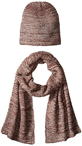 Women's Knit Scarf and Hat