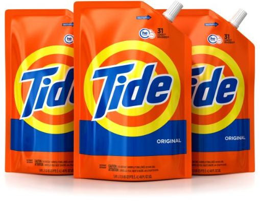 Tide Smart Pouch Original Scent – 93 Loads