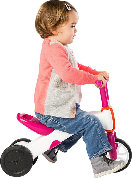 2-in-1 Gradual Balance Bike and Tricycle