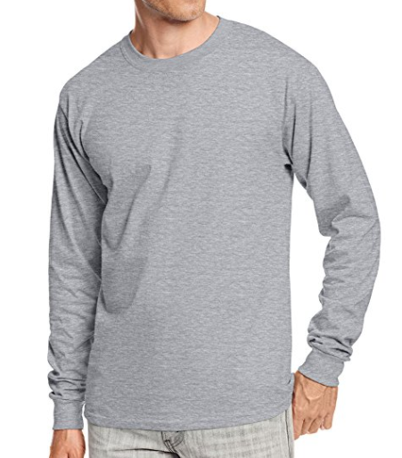 Pack of 2 Hanes shirts - Grey