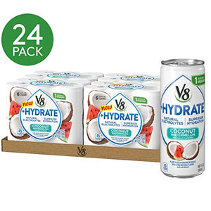 24-Pk 8oz V8 +Hydrate Plant-Base Hydrating Beverage