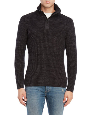 G Star Raw 3 button sweater