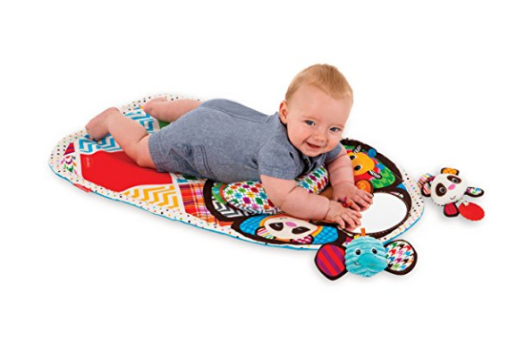 Peek and Play Tummy Time Activity Mat