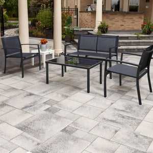 4 Pieces Patio Furniture Set