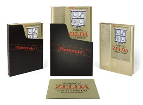 The Legend of Zelda Deluxe Edition Hardcover Encyclopedia
