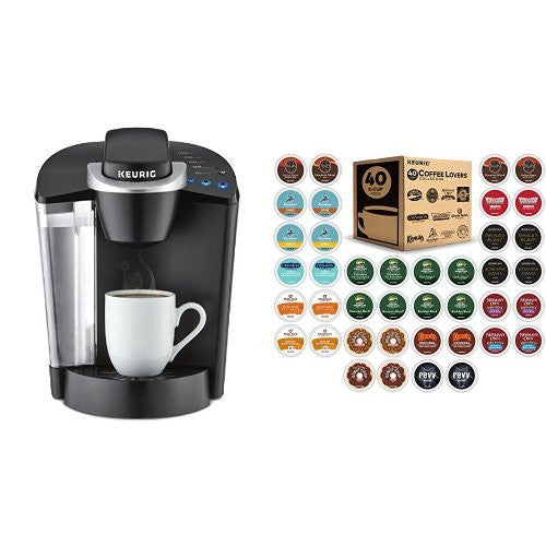 Keurig brewer & 40ct k-cup variety pack