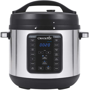 Crock-pot 8-Quart Multi-Use XL Express Crock Programmable Slow Cooker with Manual Pressure