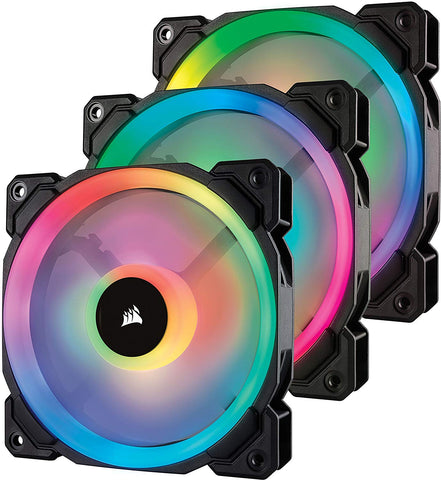 Corsair LL Series 120mm RGB Dual Light Loop LED Fans