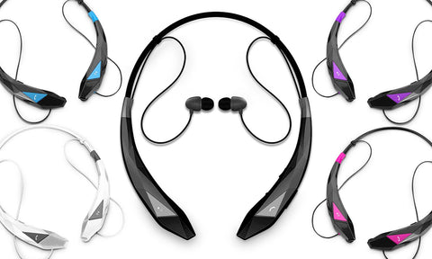 Aduro Amplify Pro Stereo Bluetooth Headset