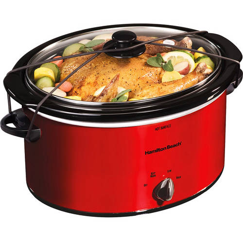Hamilton Beach 5 Qt Portable Slow Cooker