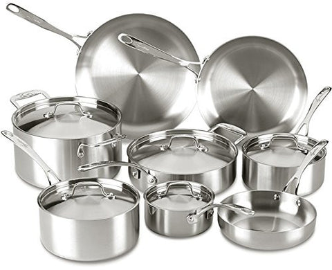 Lagostina Stainless Steel 13-Piece Cookware Set