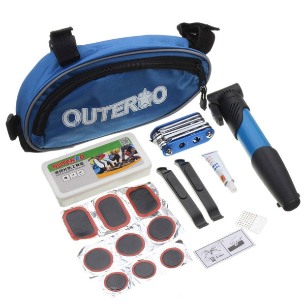 14 piece bike repair tool kit
