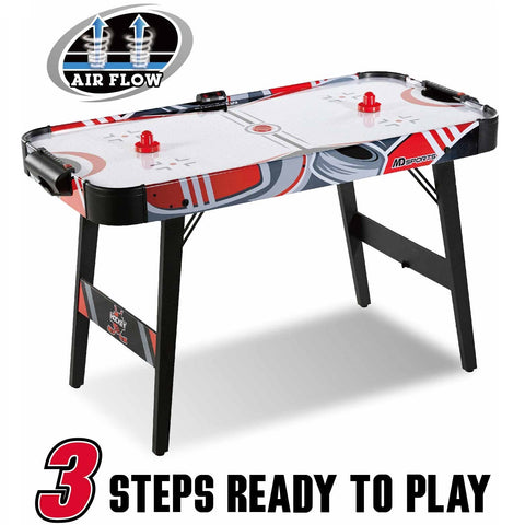 MD Sports Easy Assembly 48 Inch Air Powered Hockey Table