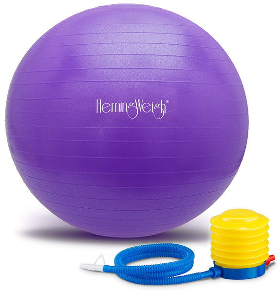 Exercise Anti-Burst Ball For Fitness Stability and Yoga With Pump