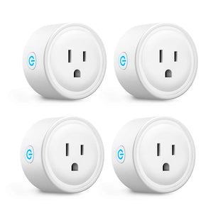 Pack Of 4 Wi-Fi Smart Plugs
