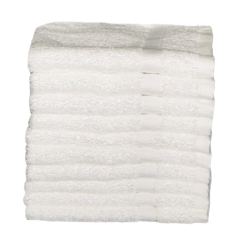 Pack of 10 wash cloths