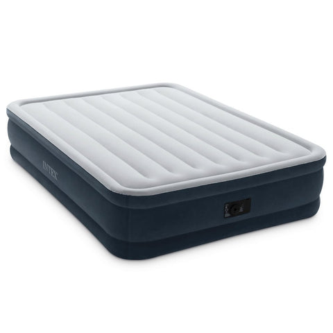 Intex Dura-Beam Series Elevated Comfort Airbed With Pump