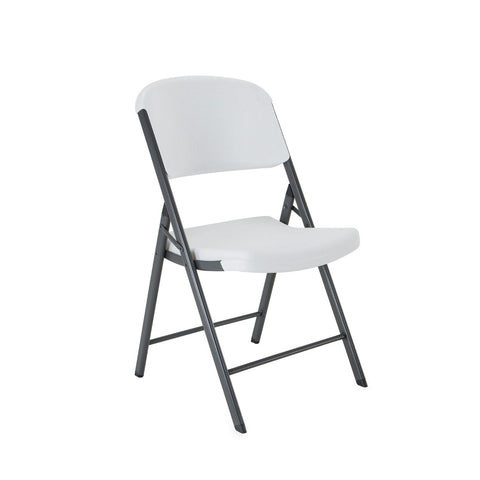 Set of 4 Lifetime Folding Chairs