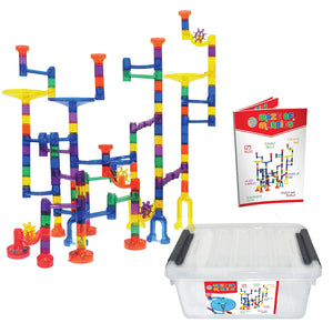 Maze of Marbles 125-Piece Educational Marble Run Toy Set