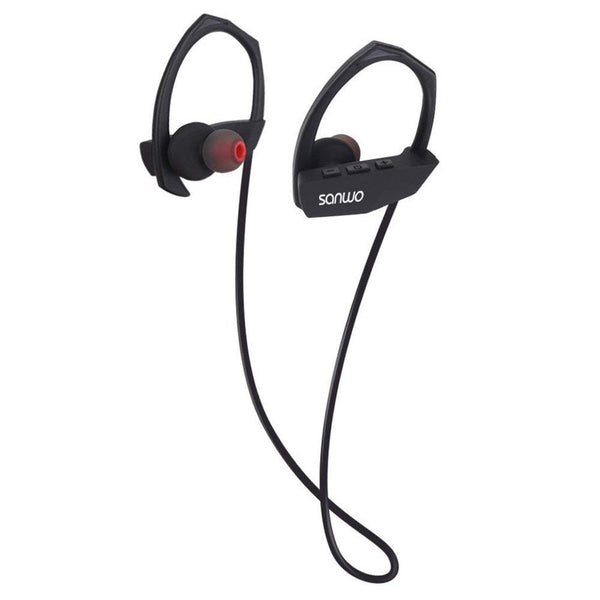 Bluetooth Headphone, Sanwo Wireless Sweatproof Stereo Earphones