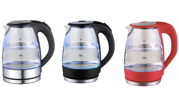 1.7 Liter Electric Cordless Glass Water Kettle