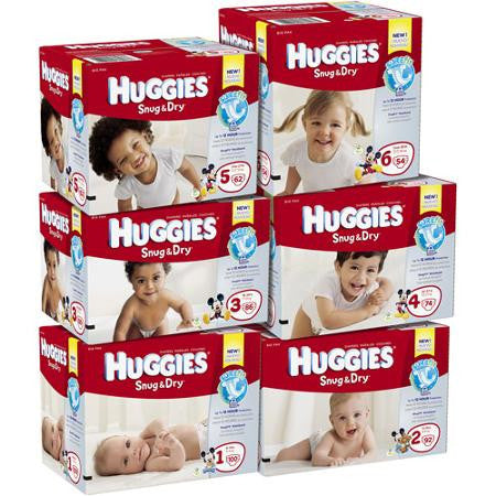 Huge sale on Huggies diapers