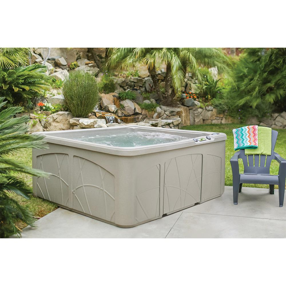 Remarkable Up To 54 Off Select Lifesmart Hot Tubs Pzdeals Machost Co Dining Chair Design Ideas Machostcouk