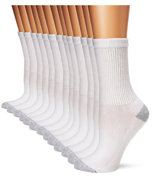 Pack of 13 Hanes women's socks